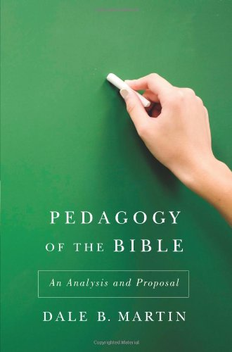Pedagogy of the Bible: An Analysis and Proposal 9780664233068