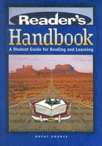 Reader's Handbook: A Student Guide for Reading and Learning 9780669490060