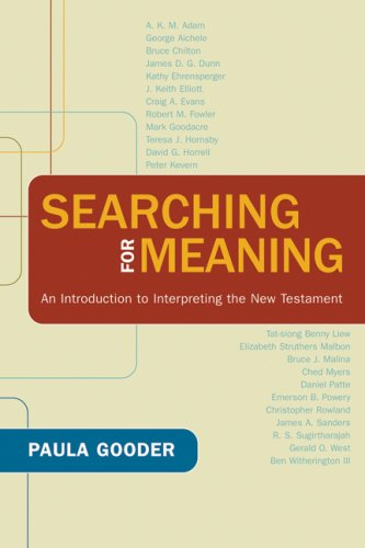 Searching for Meaning: An Introduction to Interpreting the New Testament 9780664231941