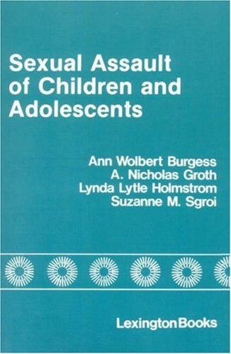 Sexual Assault of Children and Adolescents 9780669018929