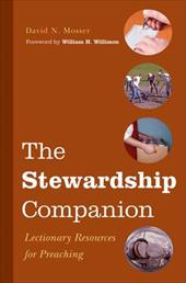The Stewardship Companion: Lectionary Resources for Preaching