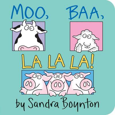 Moo, Baa, La La La! 9780671449018