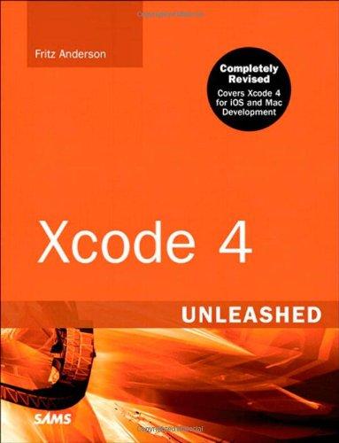 Xcode 4 Unleashed 9780672333279