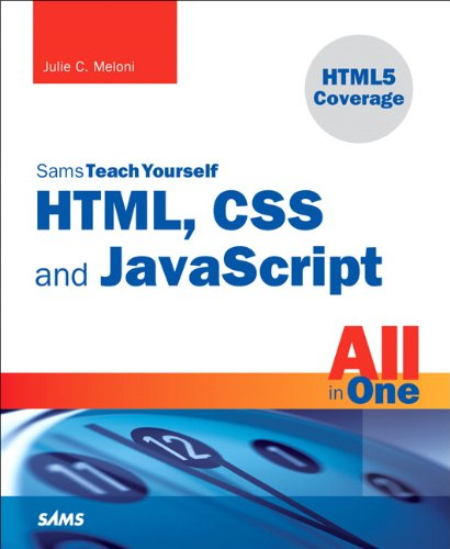 Sams Teach Yourself HTML, CSS, and JavaScript All in One 9780672333323