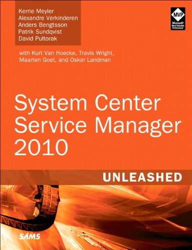 System Center Service Manager 2010 Unleashed 9780672334368