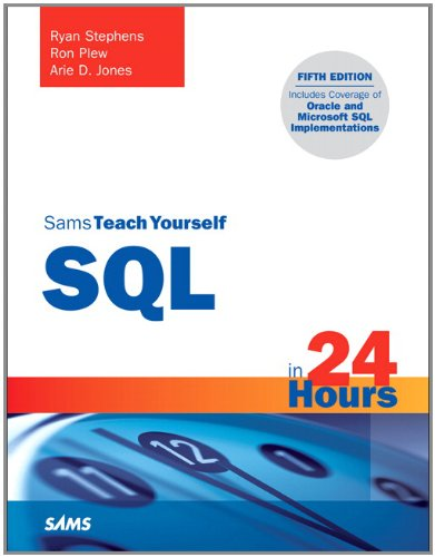 Sams Teach Yourself SQL in 24 Hours 9780672335419
