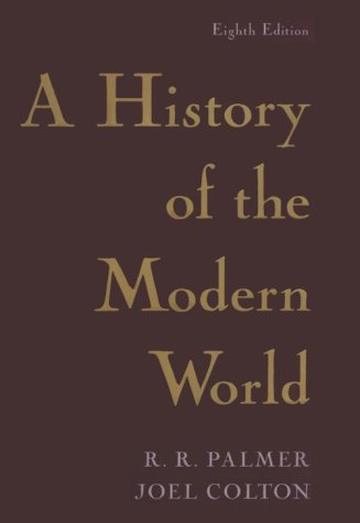 A History of the Modern World: Eighth Edition 9780679432531