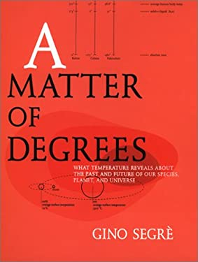 A Matter of Degrees: 3what Temperature Reveals Abt Past Future Our Species Planet Universe 9780670031016