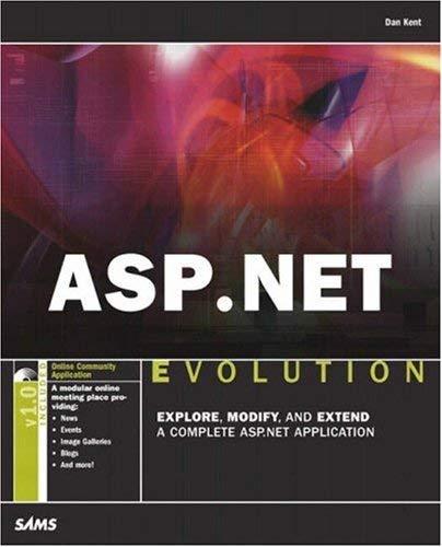 ASP.Net Evolution [With CDROM] 9780672326479