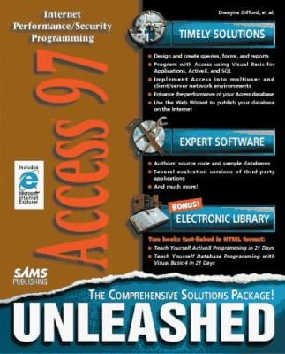 Access 97 Unleashed: With CDROM 9780672309830