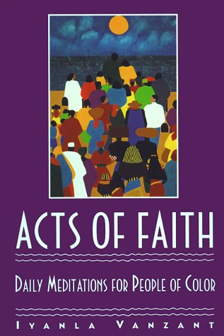 Acts of Faith: Daily Meditations for People of Color 9780671864163