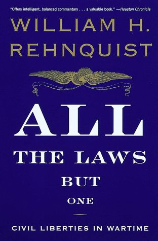 All the Laws But One: Civil Liberties in Wartime 9780679767329