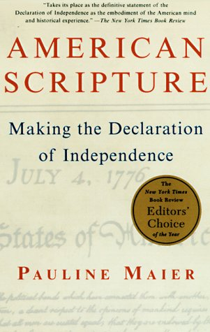 American Scripture: Making the Declaration of Independence 9780679779087