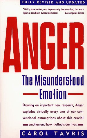 Anger: The Misunderstood Emotion 9780671675233