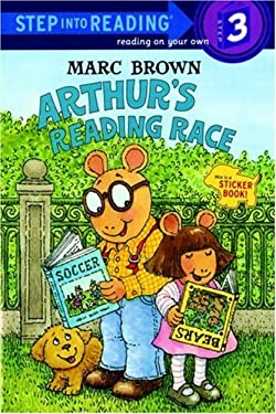 Arthur's Reading Race [With Two Full Pages of] 9780679867388