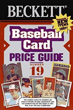 Beckett Baseball Card Price Guide: #19 9780676600735