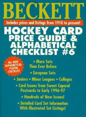 Beckett Hockey Card Price Guide 9780676600612