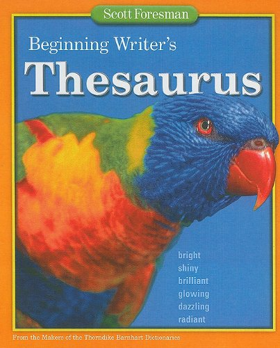 Beginning Writer's Thesaurus 9780673651358