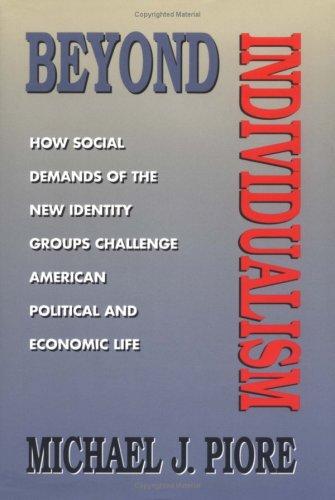Beyond Individualism 9780674068971