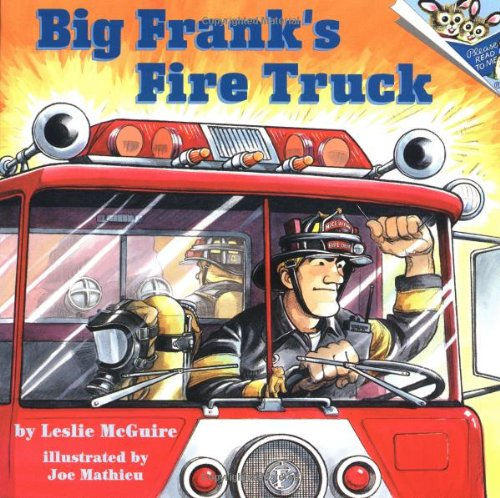 Big Frank's Fire Truck 9780679854388
