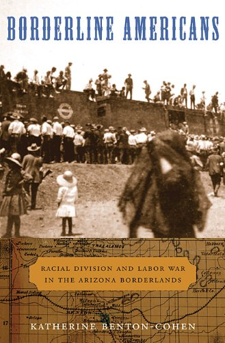 Borderline Americans: Racial Division and Labor War in the Arizona Borderlands 9780674060531
