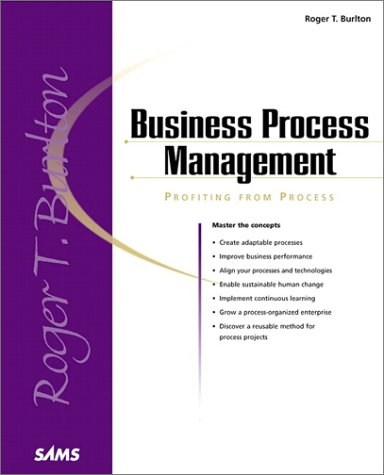 Business Process Management: Profiting from Process 9780672320637