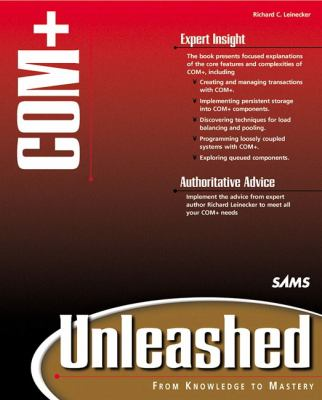 COM+ Unleashed [With CDROM] 9780672318870