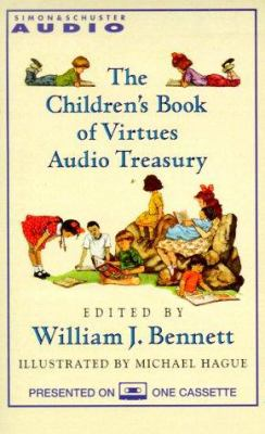 Children's Book of Virtues Audio Treasury CS 9780671045999