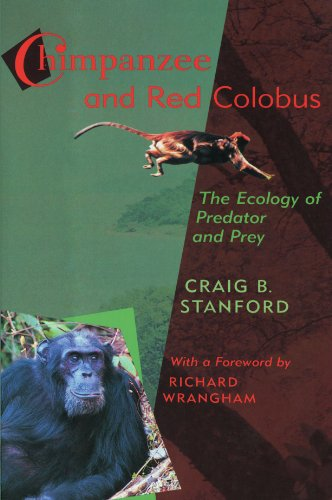 Chimpanzee and Red Colobus: The Ecology of Predator and Prey, with a Foreword by Richard Wrangham 9780674007222