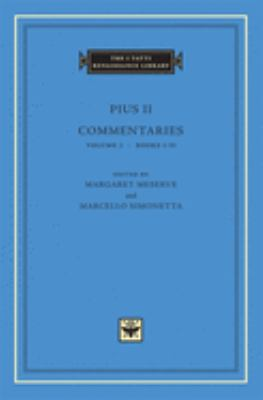 Commentaries, Volume 1: Books I-II 9780674011649