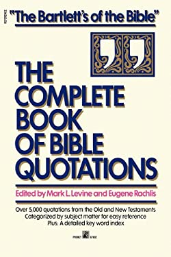 Complete Book of Bible Quotations 9780671676926