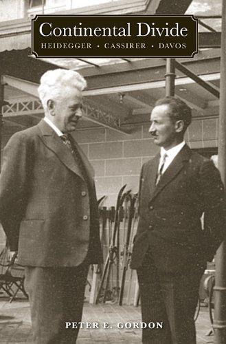 Continental Divide: Heidegger, Cassirer, Davos 9780674047136