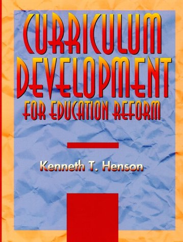 Curriculum Development for Education Reform 9780673992222
