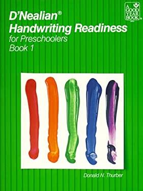D'Nealian Handwriting Readiness for Preschoolers, Book 1 9780673188557