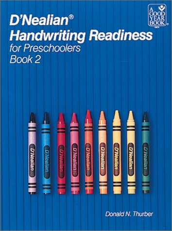 D'Nealian Handwriting Readiness for Preschoolers Book 2 9780673188564