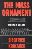 Das Ornament Der Masse: Essays