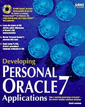 Developing Personal Oracle7 Applications 9780672307577