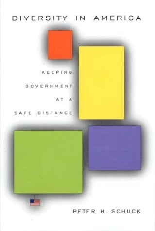 Diversity in America: Keeping Government at a Safe Distance 9780674010536