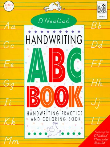 D'Nealian Handwriting Manuscript ABC Book 9780673360205