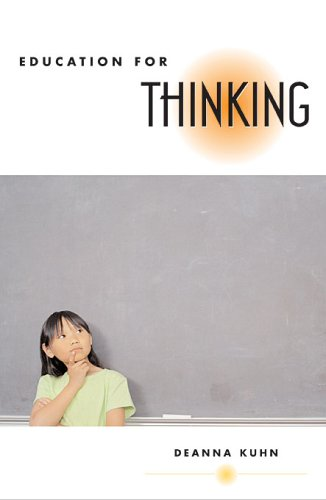 Education for Thinking 9780674019065