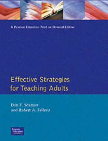 Effective Strategies for Teaching Adults 9780675206327