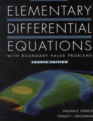 Elementary Differential Equations with Boundary Value Problems 9780673985552