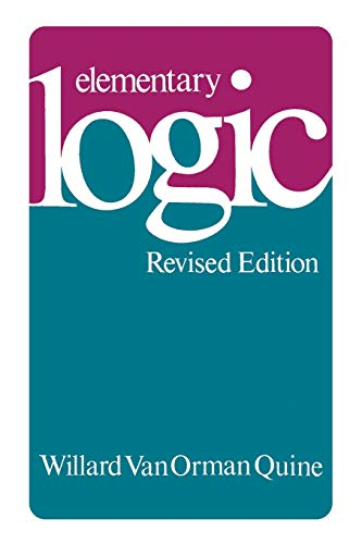 Elementary Logic: Revised Edition 9780674244511