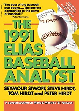 Elias Baseball Analyst, 1991 9780671733254