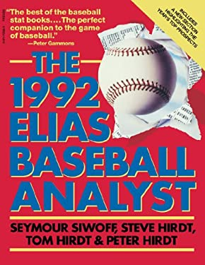 Elias Baseball Analyst 1992 9780671733261