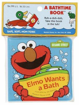Elmo Wants a Bath 9780679830665
