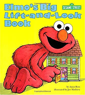 Elmo's Big Lift-And-Look Book (Sesame Street) 9780679844686