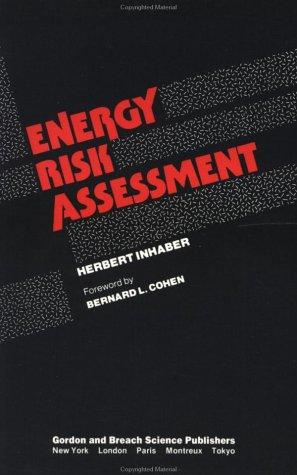 Energy Risk Assessment 9780677059808