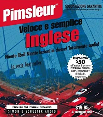 English for Italian I, Q&s: Learn to Speak and Understand English for Italian with Pimsleur Language Programs 9780671776404