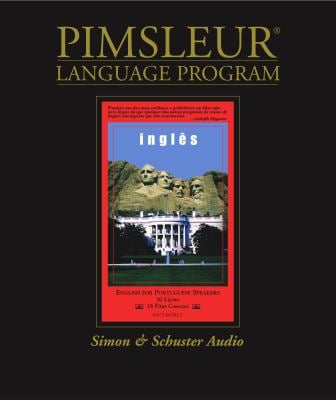 English for Portuguese (Brazilian), Comprehensive: Learn to Speak and Understand English for Portuguese with Pimsleur Language Programs